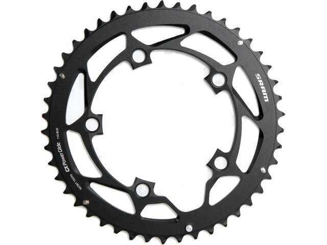 SRAM Road Kettenblatt 110mm Aluminium 10-fach S-PIN für 46-36T schwarz